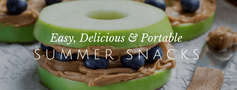 Summer Snacks That are Portable and Simple